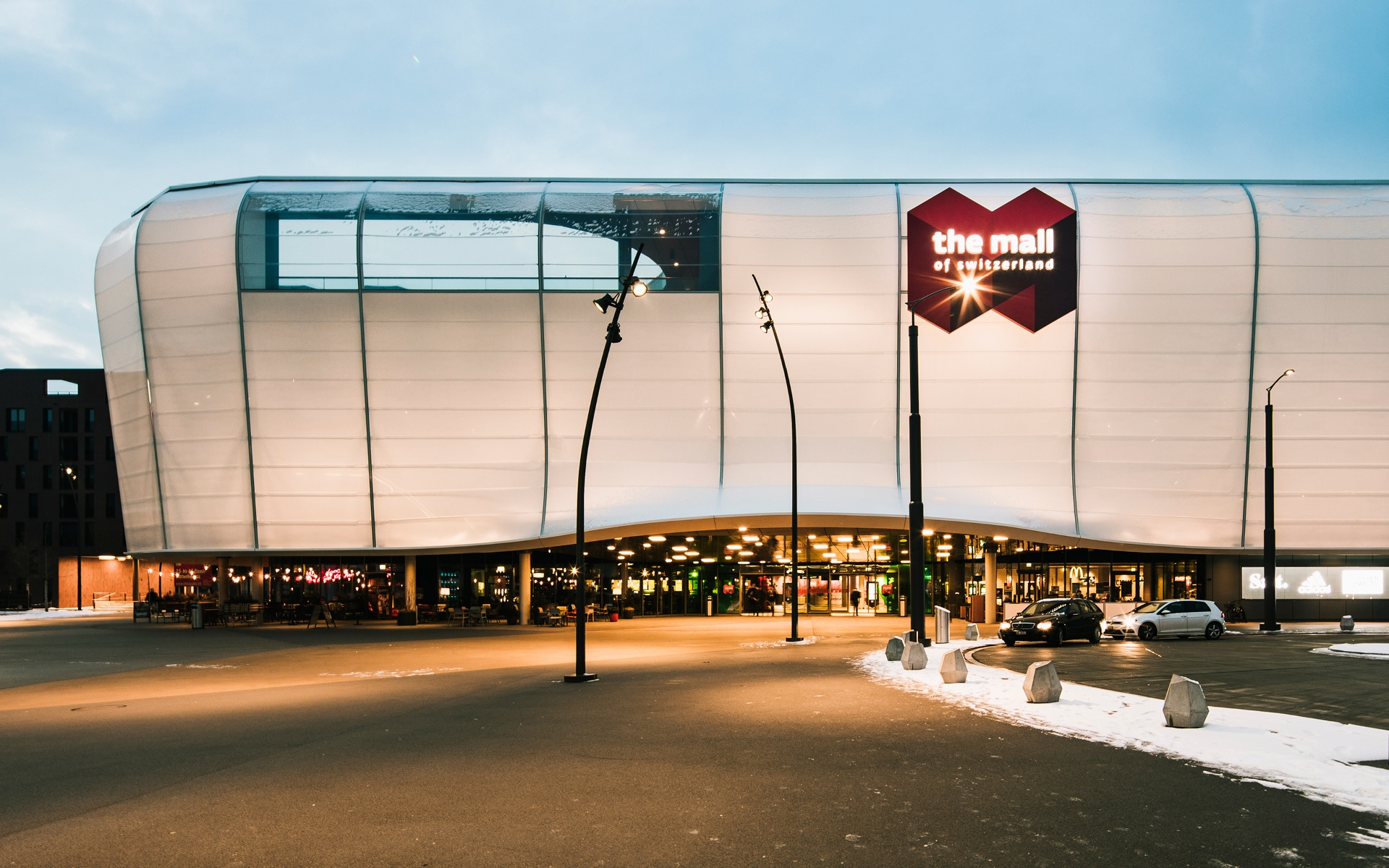 Mall of Switzerland Shopping Center Luzern