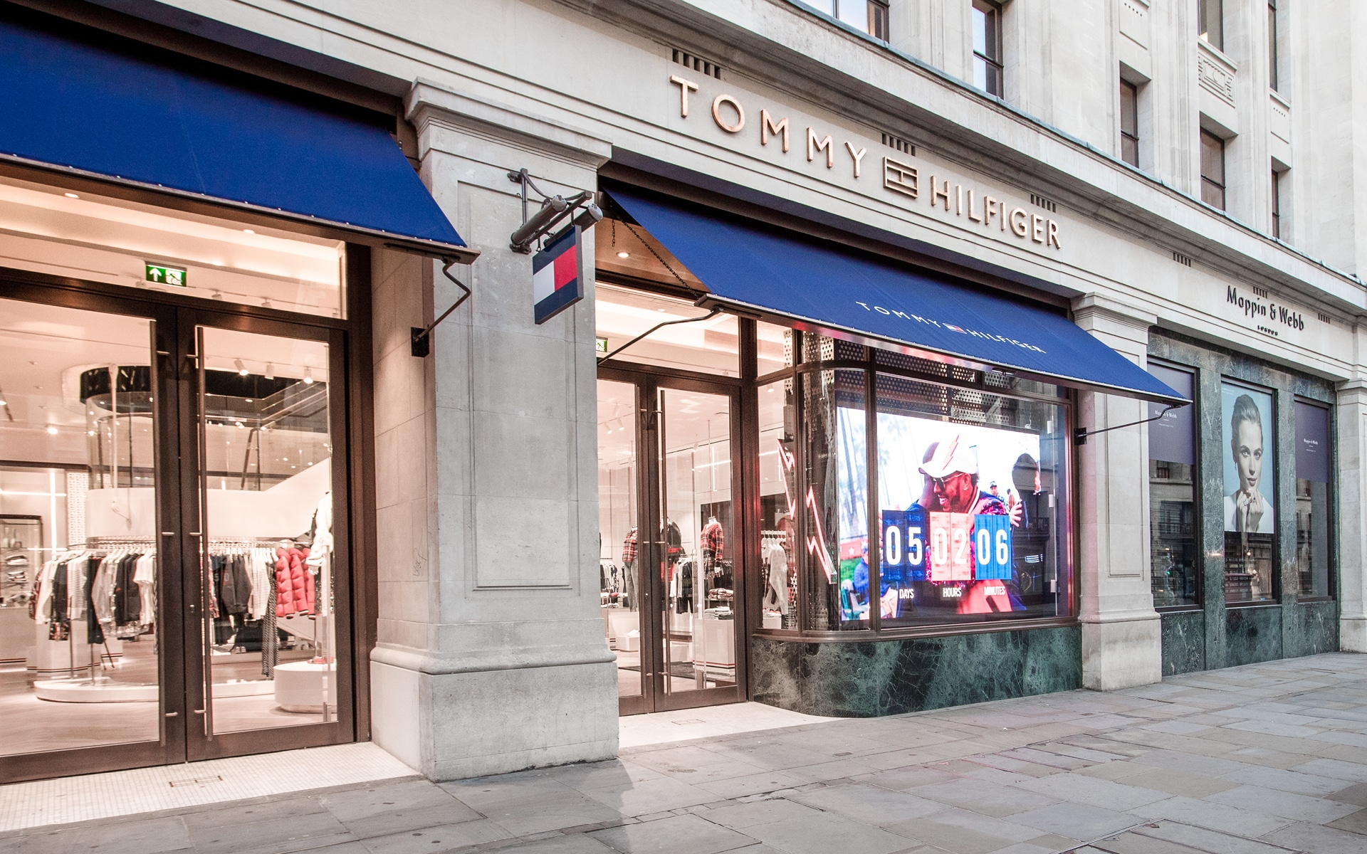 Fassade Tommy Hilfiger Flagship Store London