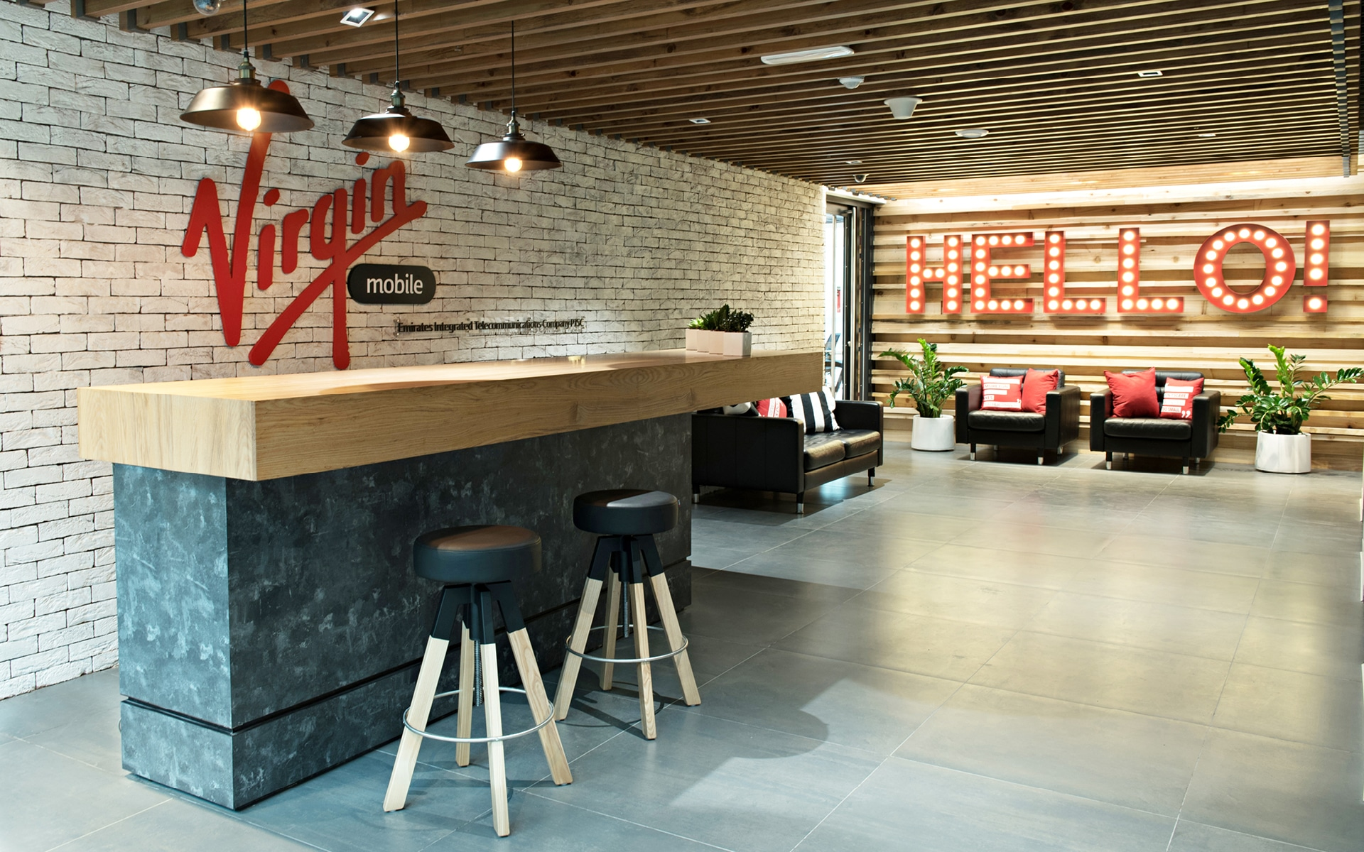 Virgin mobile Office Dubai | Architektur Schwitzke & Partner