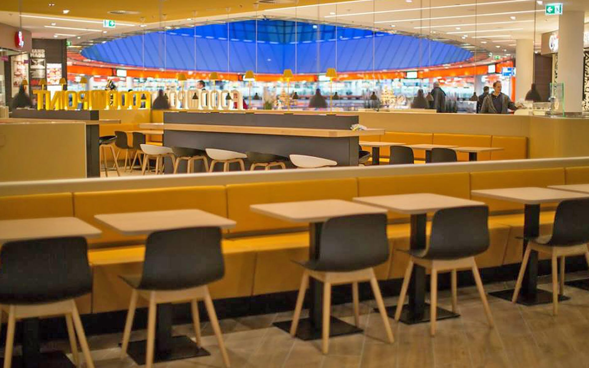 ECE Food Court Schwitzke Project