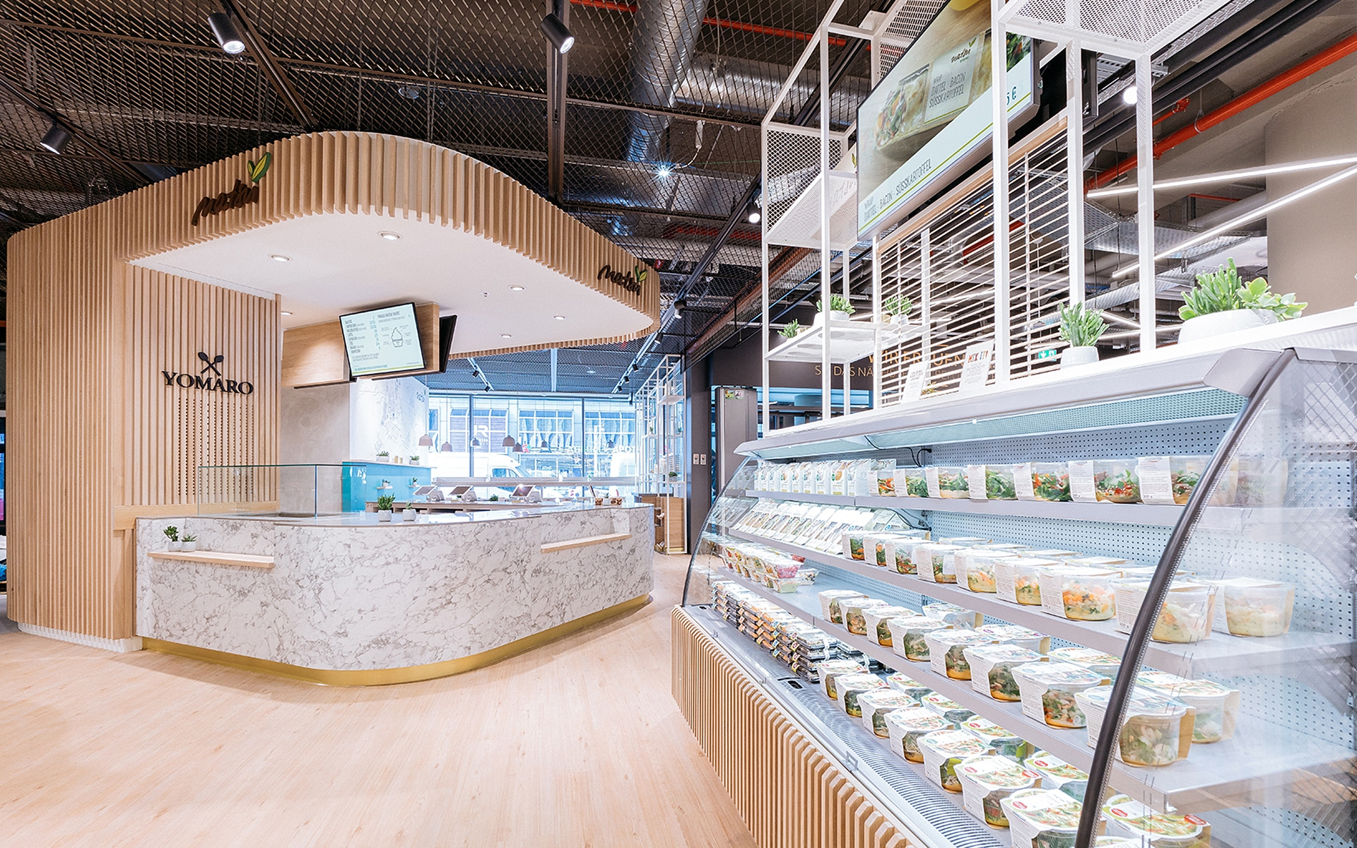 NatsuFoods Store Design Schwitzke Project