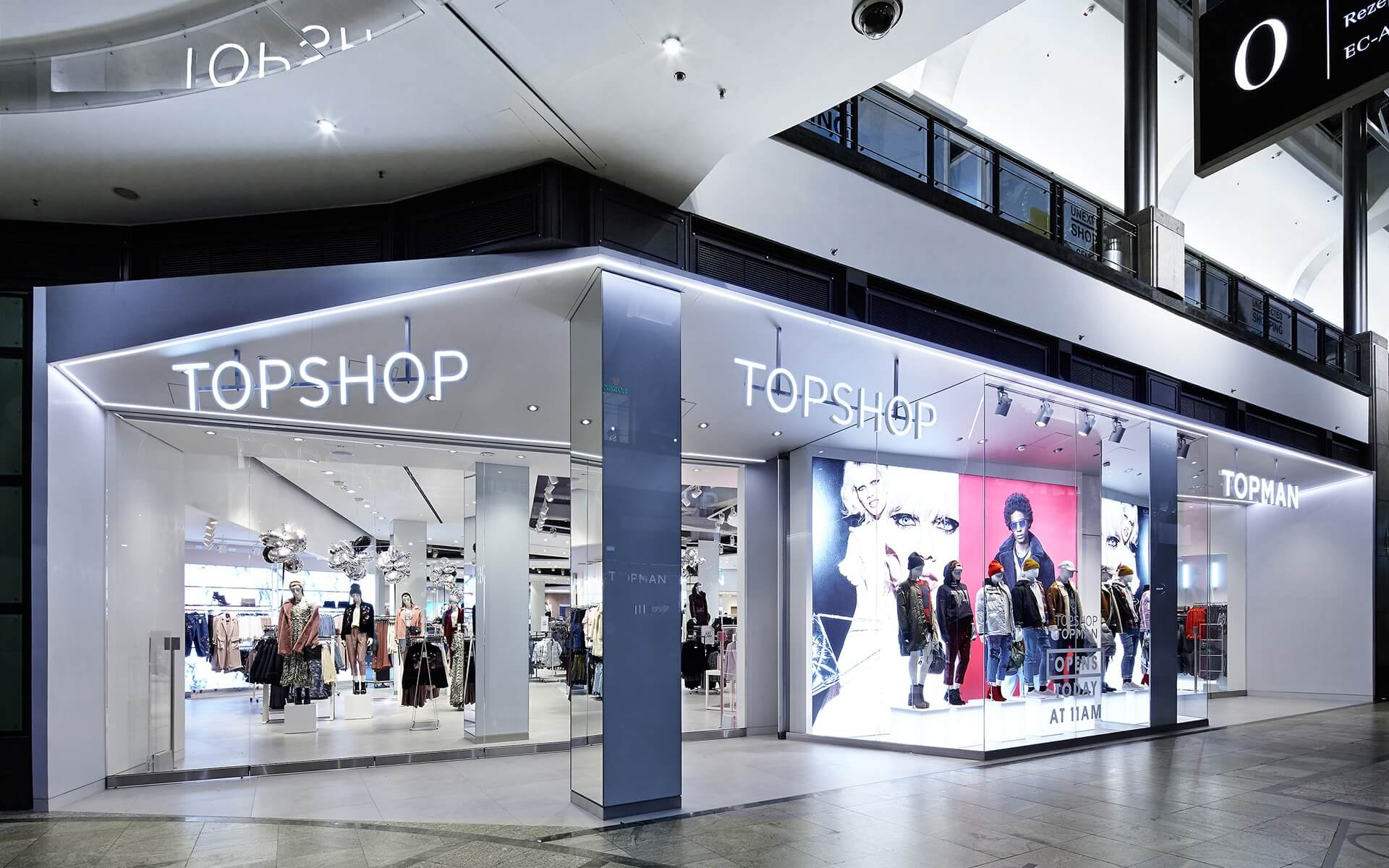TopShop Concession Store Schwitzke Project